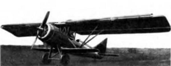 Легкий самолет рг-1.