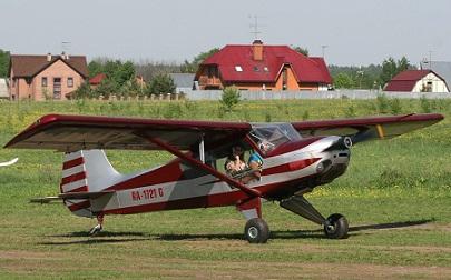 Легкий самолет «шаг-150».