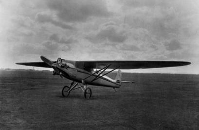 Легкий самолет ск-4.