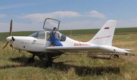 Легкий сельскохозяйственный самолет а-35 «сканер».