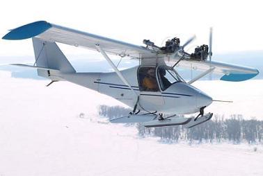 Легкий сельскохозяйственный самолет «цикада».