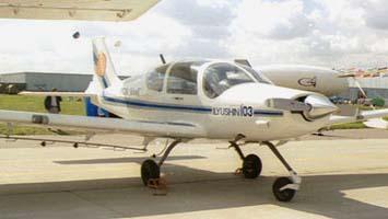 Легкий сельскохозяйственный самолет ил-103сх.