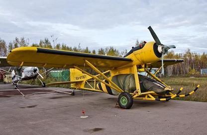 Легкий сельскохозяйственный самолет т-411сх.