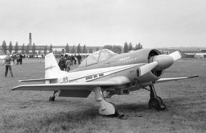 Легкий спортивно-пилотажный самолет «квант».