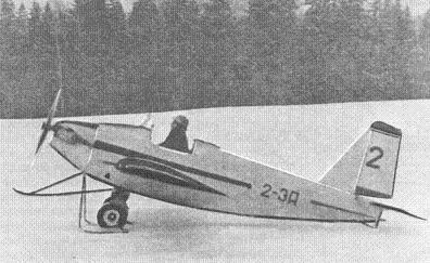Легкий спортивный самолет 2-эа.