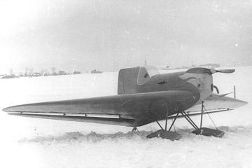 Легкий спортивный самолет бич-20 «пионер».