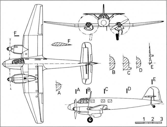 Легкий связной и транспортный самолет ago ao 192 kurier. германия