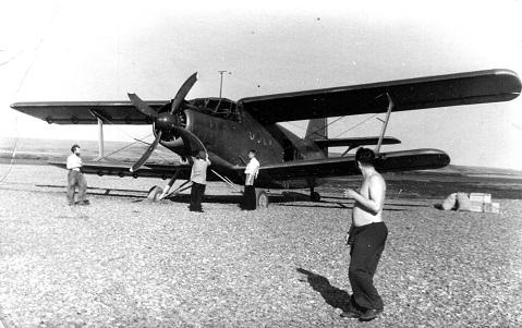 Легкий транспортно-пассажирский самолет ан-2.