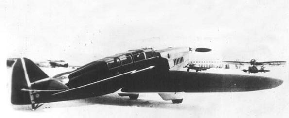 Легкий транспортно-пассажирский самолет сам-10.