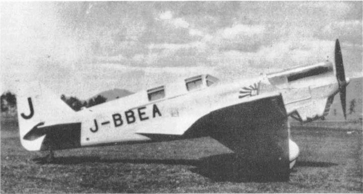 Легкий транспортный и связной самолет kawasaki c-5 (kdc-5). япония