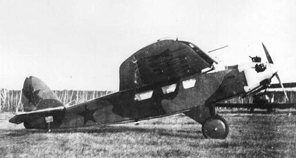 Легкий транспортный и связной самолет сам-25.