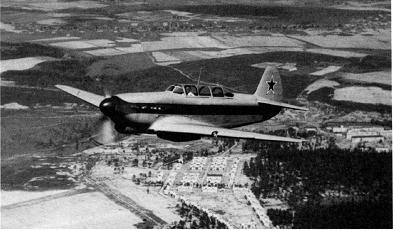 Легкий транспортный самолет як-9 «курьерский».