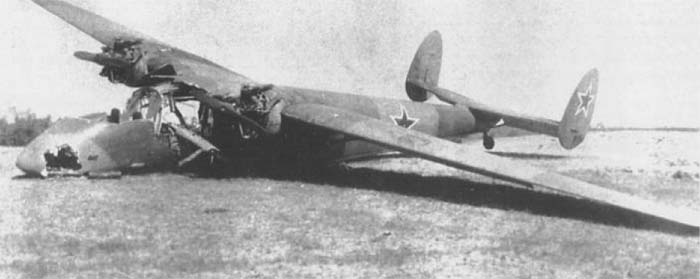 Легкий транспортный самолет ще-2.