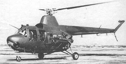 Легкий ударный вертолет ми-1му.