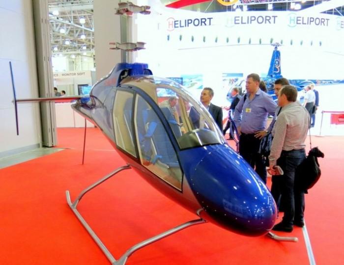 Легкий вертолет отечественного производства афалина