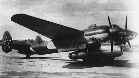 Летающая лаборатория ту-2лл.