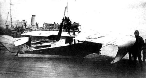 Летающая лодка-истребитель «энгельс-i, -ii, -iii».