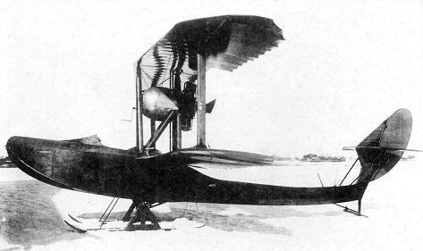 Летающая лодка-истребитель вм-5.
