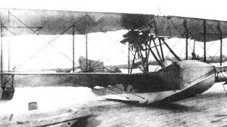 Летающая лодка м-15.