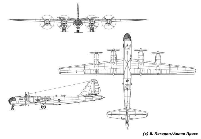 Летающие крепости в.м. мясищева. самолёты двб-202 и двб-302