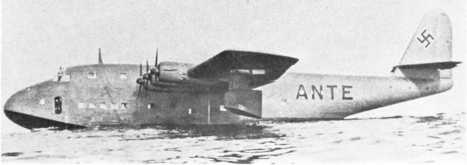 Летающие лодки blohm voss bv 222. германия