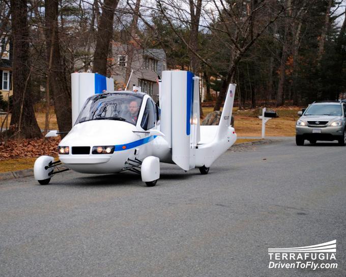 Летающий автомобиль к 2013 году