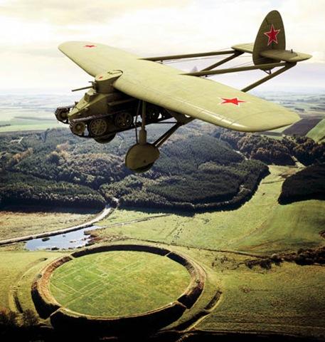 Летающий танк рафаэлянца