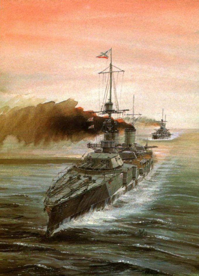 Линейные корабли типа дмитрий донской (фан)
