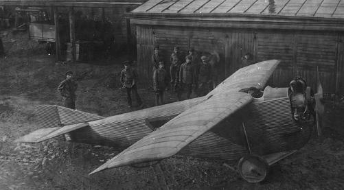 Лёгкий пассажирский самолёт ант-2.