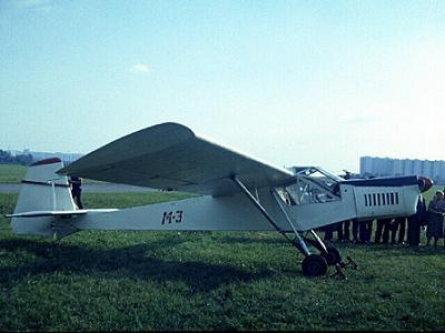 Лёгкий самолет м-3.
