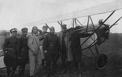 Лёгкий самолет связи аир-4.
