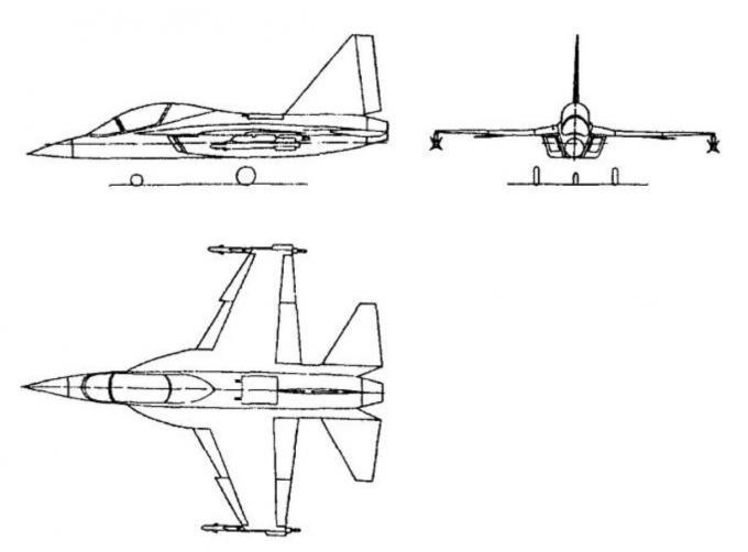 Любительские проекты легких многофункциональных самолетов. часть 1 проект легкого фронтового истребителя мл-111