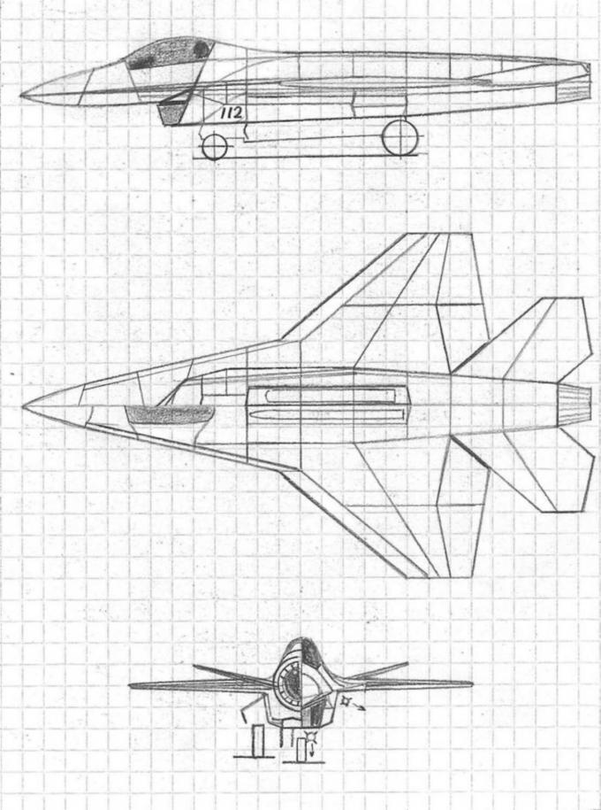 Любительские проекты легких многофункциональных самолетов. часть 2 легкий фронтовой истребитель мл-112