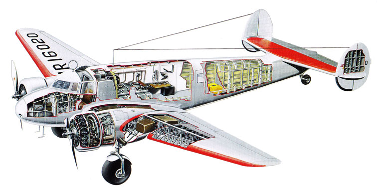Lockheed electra. характеристики. фото
