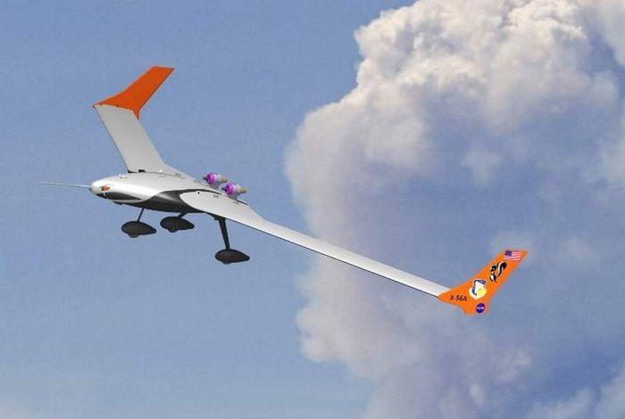 Lockheed martin x-56. технические характеристики. фото.