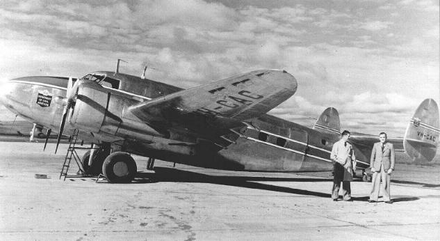 Lockheed model 18 lodestar. фото. характеристики.