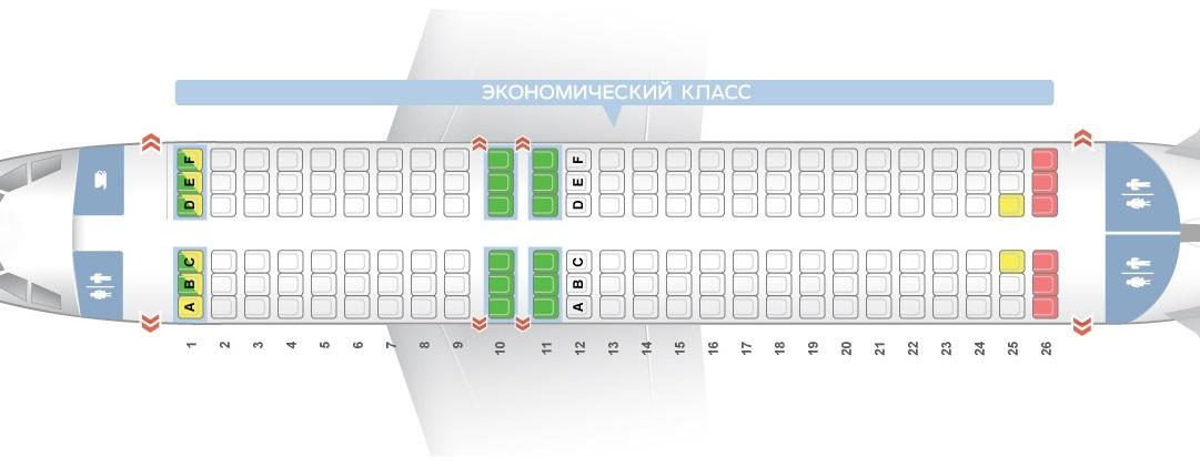 Лучшие места и схема салона самолета airbus a319 – easyjet