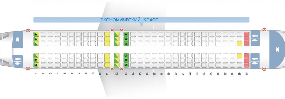 A320 схема салона фото