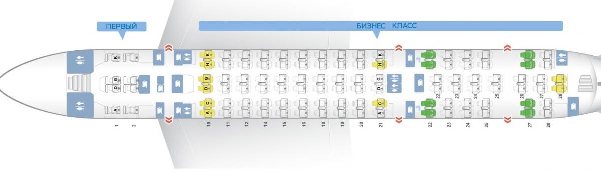 Лучшие места и схема салона самолета airbus a380-800 - emirates