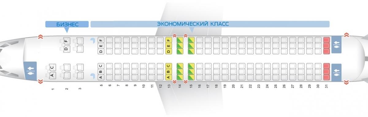 Лучшие места и схема салона самолета boeing 737-800 - nordstar airlines