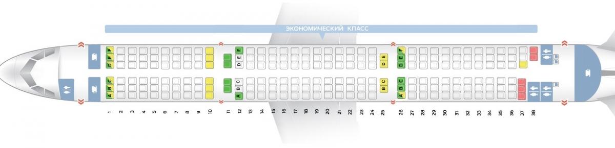 Лучшие места салона самолета a321-200 - air france