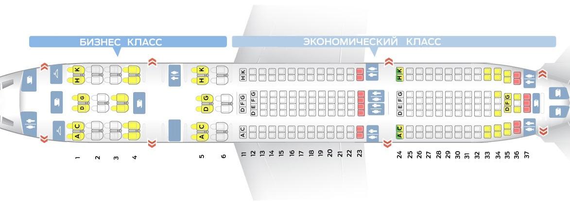 Лучшие места салона самолета airbus a330-200 cuba de aviacion