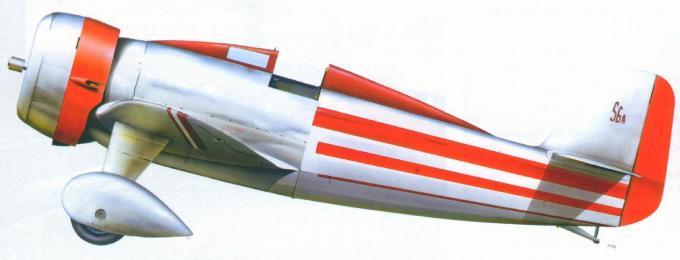 Марсель эглен и семейство гоночных самолетов lorraine-hanriot 41/42/130/131 часть 2
