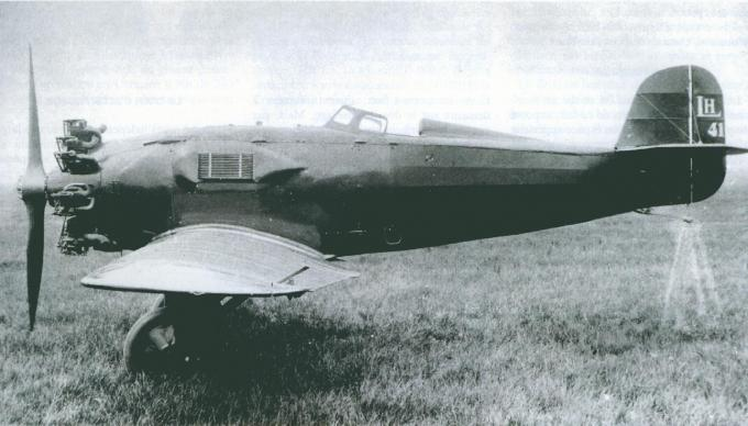 Марсель эглен и семейство гоночных самолетов lorraine-hanriot 41/42/130/131 часть 1
