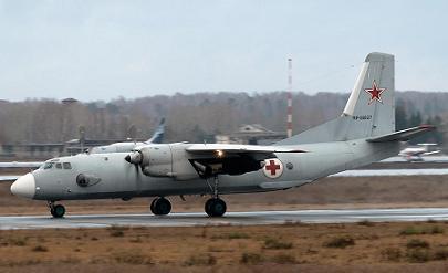 Медико-эвакуационный самолет ан-26м «спасатель».