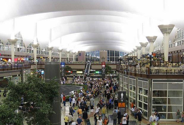 Международный аэропорт денвер (denver). den. kden. официальный сайт.
