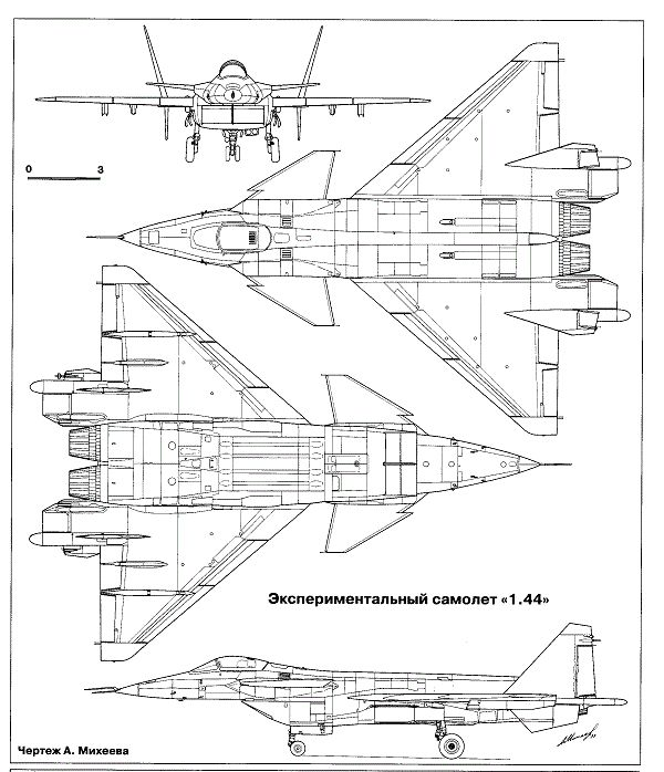 Миг-1.44. фото, история, характеристики самолета