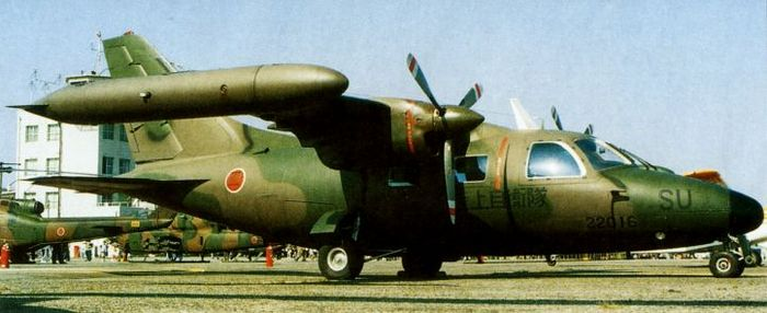 Mitsubishi mu-2: военное применение