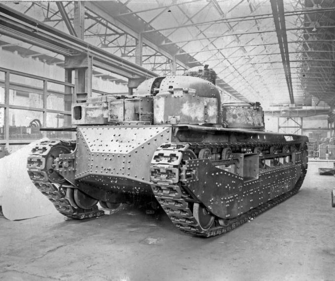 Многобашенная независимость. опытный тяжелый танк a1e1 independent. великобритания