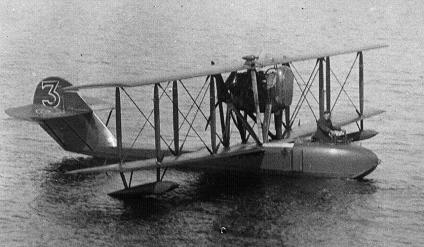 Многоцелевая летающая лодка siai s.16.